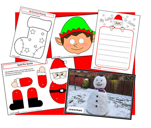 Christmas Resources for EYFS/ Y1 - The Complete Package!