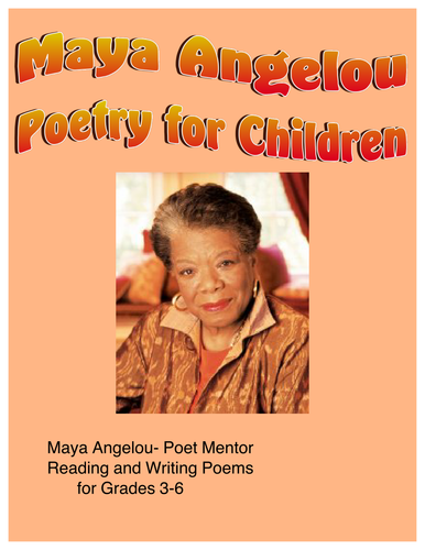Maya Angelou - Poetry for Young Children