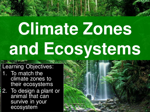 World climate zones and their ecosystems