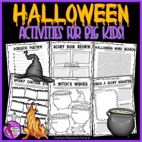 Halloween Activities for tutor time