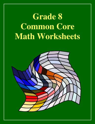 Grade 8 Common Core State Standards Mathematics Value Bundle
