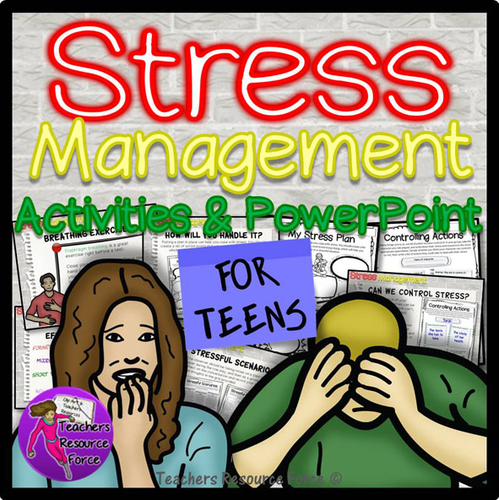 Stress Management: PowerPoint and Activities