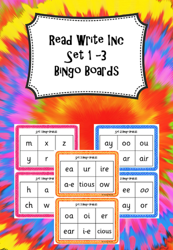 Phonic Sounds Read Write Inc Set 1 By