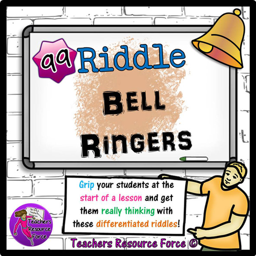 99 Lesson Starters - Riddles to get students engaged and thinking at the start of your lesson!