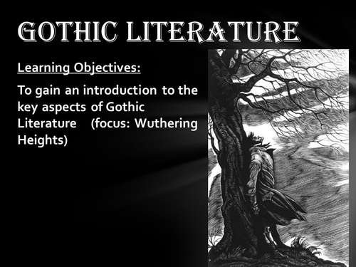 gothic and vampiric themes in wuthering