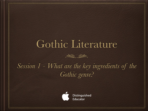 gothic literature by louisa teaching resources tes