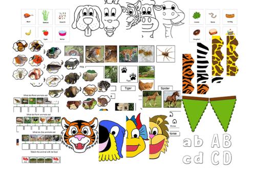 MEGA PACK (Animal Activity Games)