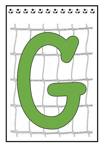 Goals display banner