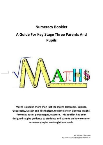 Maths Booklet (KS3 &4)