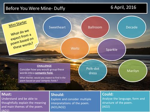 Before You Were Mine- Duffy