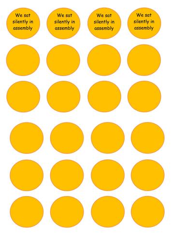 Golden Time Chart