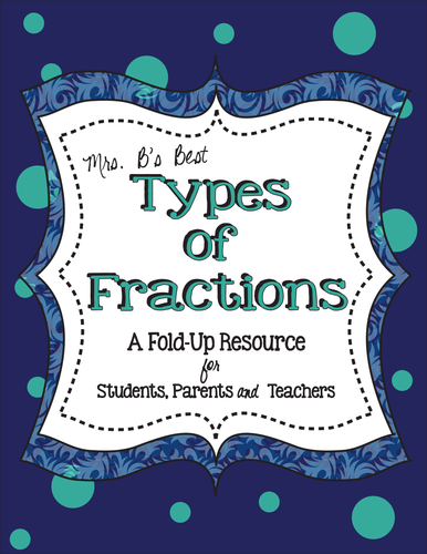 Types of Fractions (Improper, Proper, Equivalent, Mixed Number)