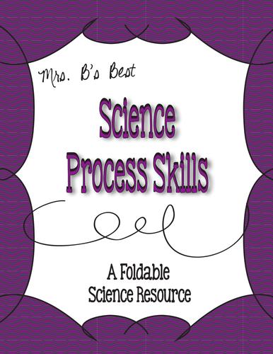 Science Process Skills Foldable