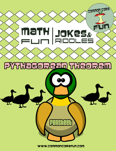 Pythagorean Theorem Right Triangles FUN worksheet ...