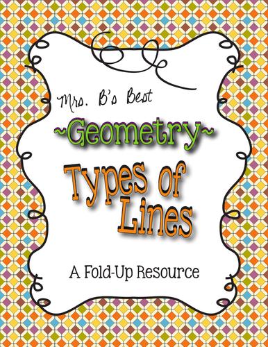 Geometry - Types of Lines