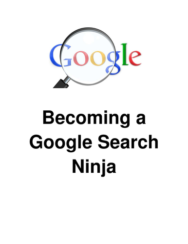 Becoming a Google Search Ninja