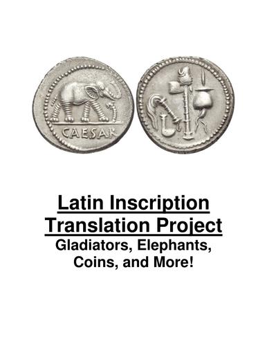 Latin Inscription Translation Project