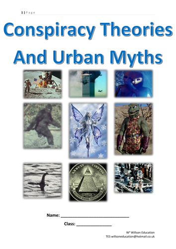 Conspiracy Theories And Urban Myths (KS 3&4)