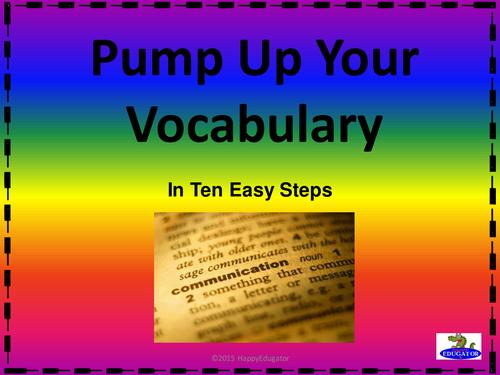Build Vocabulary PowerPoint