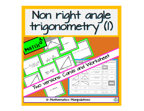 non right angled trigonometry by busybob25 uk teaching. Black Bedroom Furniture Sets. Home Design Ideas