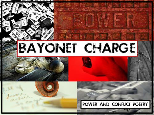 'Bayonet Charge', Ted Hughes