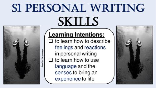 S1 Personal Writing Skills
