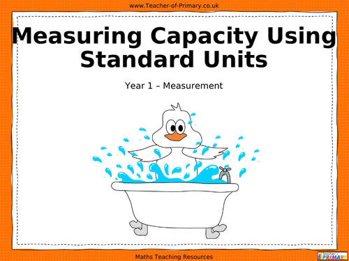 Measuring Length and Height Using NonStandard Units PowerPoint – Non Standard Measurement Worksheets