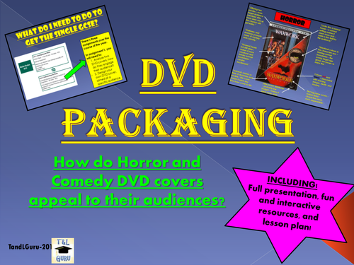DVD Packaging - Genre and Audience