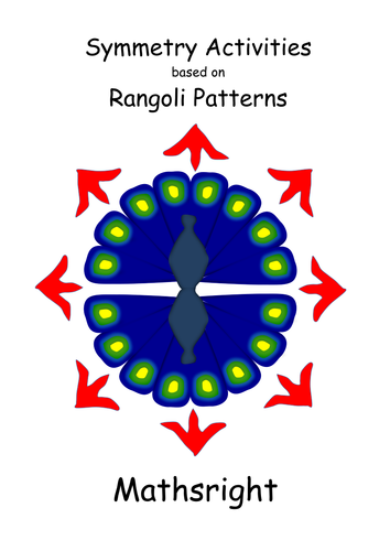 Rangoli Inspired Symmetry Activities