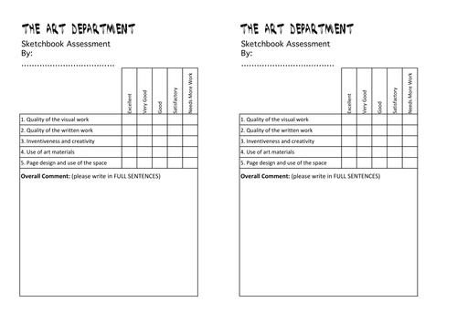 Peer Assessment rubric