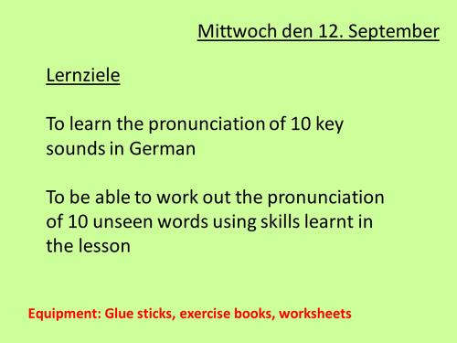 Beginners German Lesson 1 Numbers and Greetings