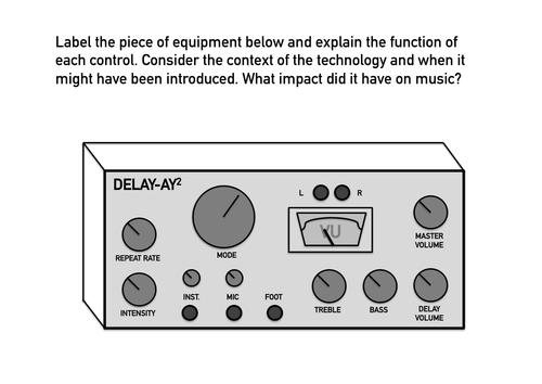 Unit 4 Exam Preparation - Label the Equipment