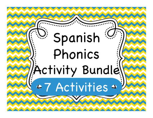 Spanish Phonics & Pronunciation Activities
