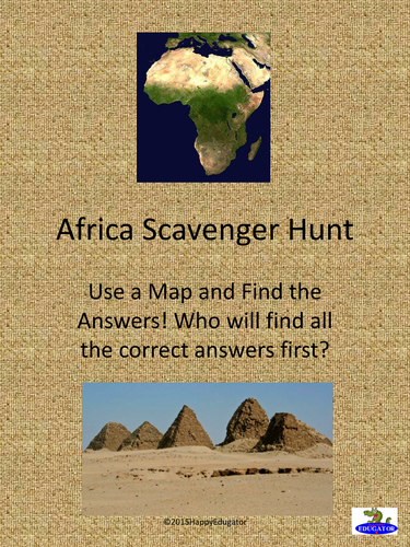 Africa Scavenger Hunt