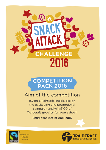 Snack Attack Competition Pack 2016