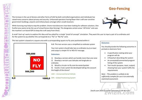 Computing - Coding Challenge 1 - Geo-Fencing