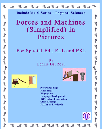 Forces And Machines Simplified And In Pictures For Differentiating