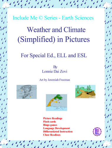 Weather And Climate Simplified In Pictures For Differentiated