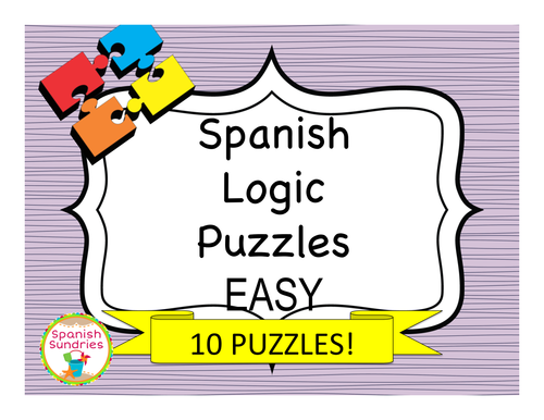 Spanish Logic Puzzles - Easy