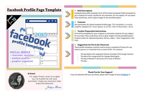 Facebook Profile By JadynThone