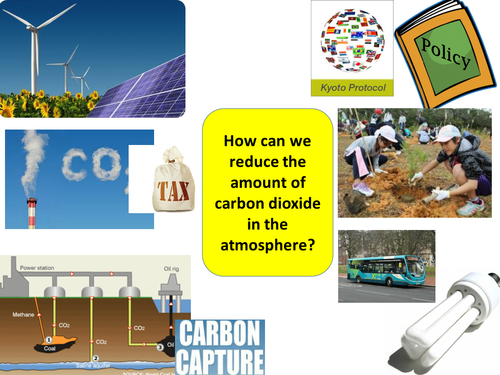 Carbon offsetting and storage lesson