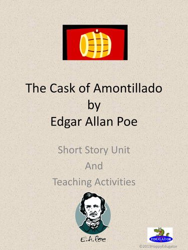 a review of the story of the cask of amontillado