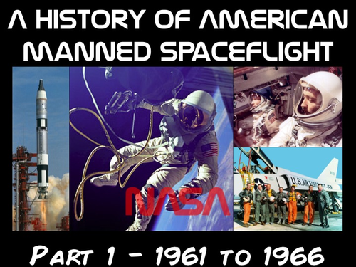 History of American Manned Spaceflight - Part 1 (1961 to 1966)
