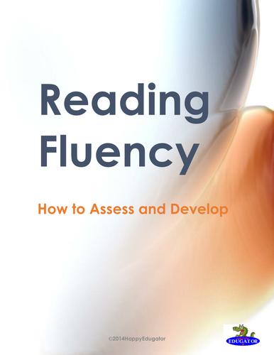 Reading Fluency Handout