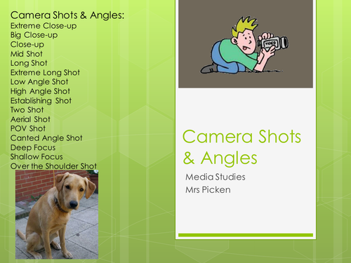 Shot Types & Angles