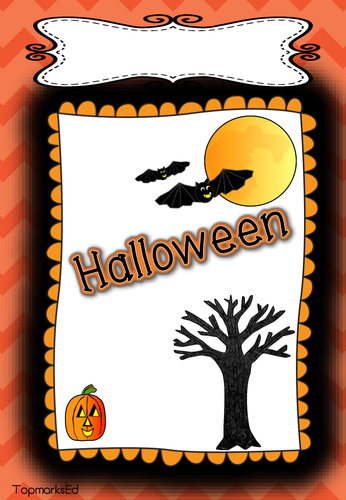 Halloween Bumper Pack.  Math, English and much more.