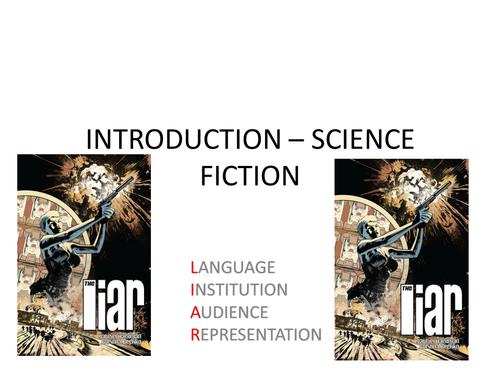 SCIENCE FICTION - AQA EXAM 2016 PRESENTATIONS