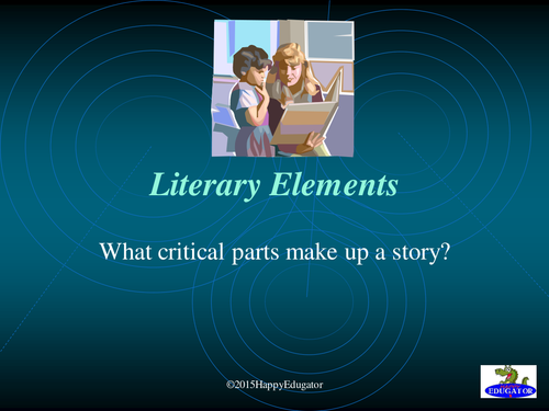 Literary Elements of a Short Story