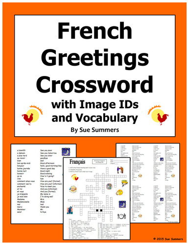 French Greetings And Leave Takings Bundle By