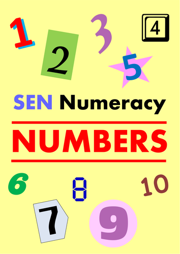 SEN Numeracy - NUMBERS